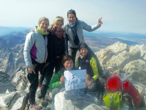 At the Summit of Mt. Whitney